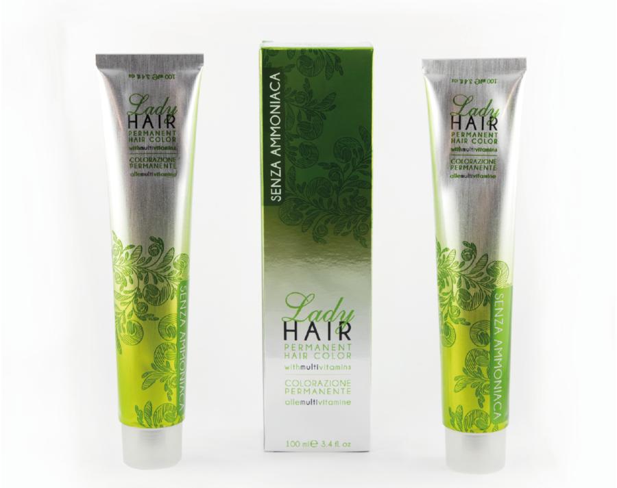 Permanent Hair Color Senza Ammoniaca Lady Nail