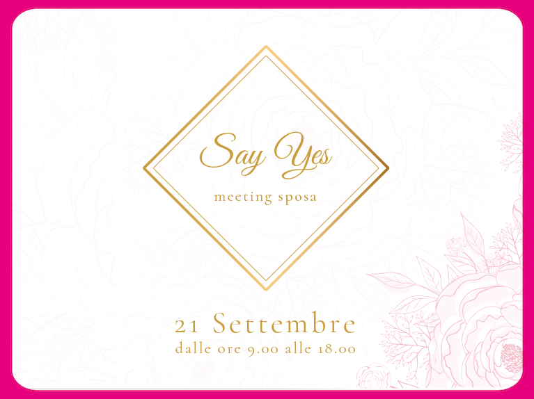 SAY YES – Meeting